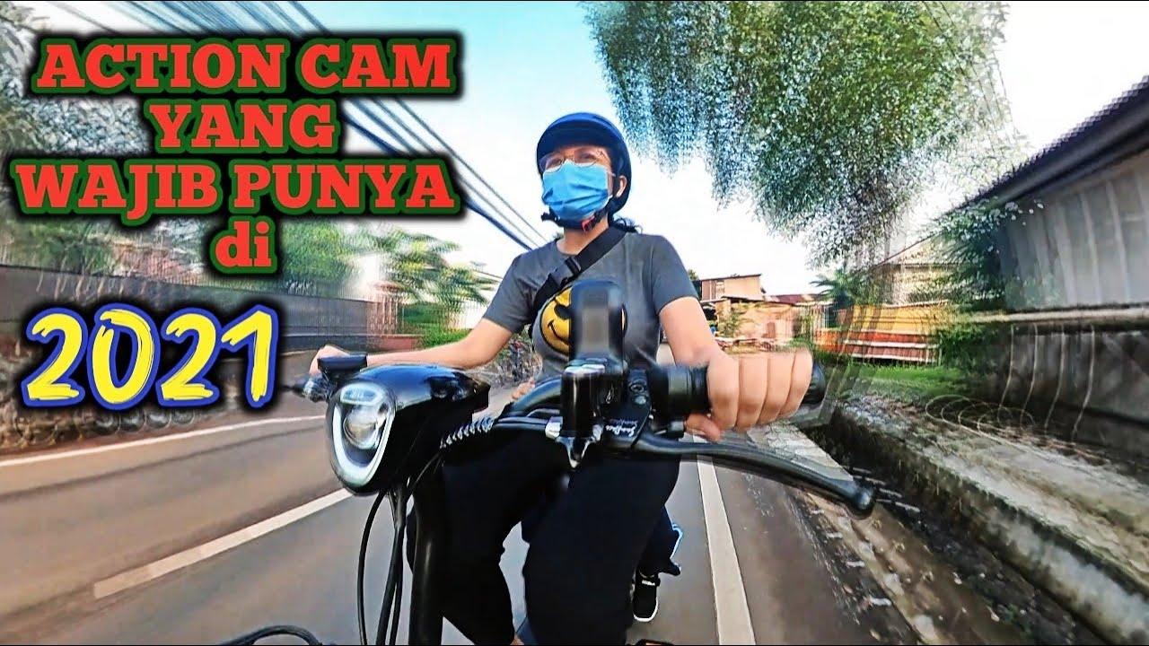 INSTA360 ONE X2 TEST CAM INDONESIA | NGANTERIN ENZI KE SEKOLAH NAIK SEPEDA LISTRIK SUNRACE ECO