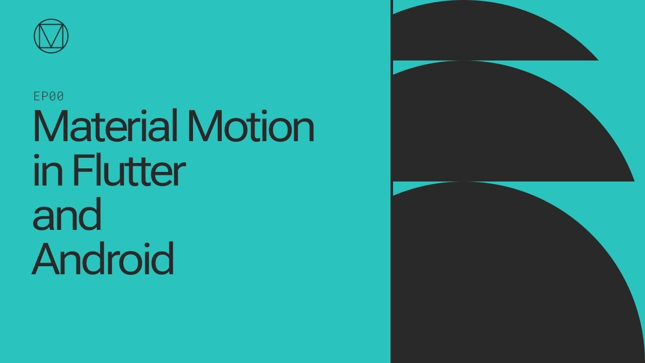 Material Motion in Flutter and Android
