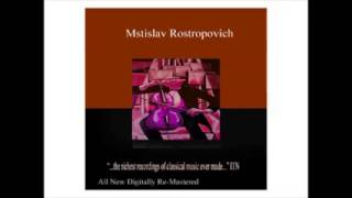 Cello Concerto No. 1 in E-Flat Major, Op. 107, I Allegretto