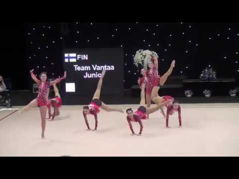 Team Vantaa Junior (FIN) ♡ Miss Valentine 2017 | AGG Junior  | Final