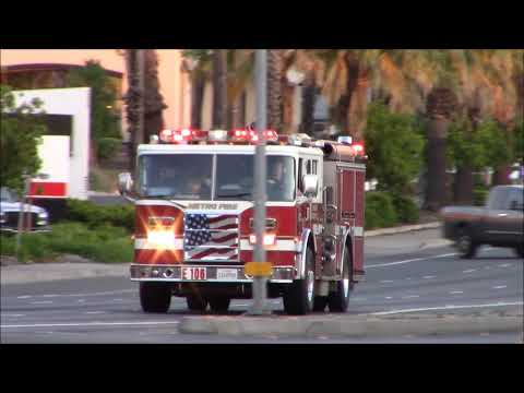 Lots Of Q - Sacramento Metro Fire District (Reserve) Engine 106 Responding Code 3