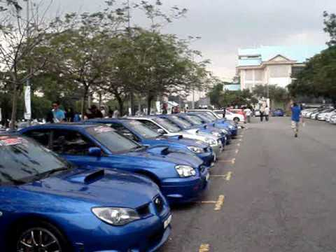 Malaysia Japanese Sports Car Convoy Youtube