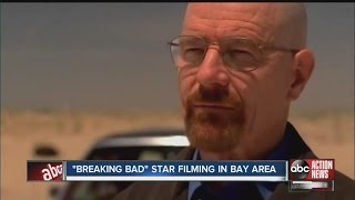 Breaking Bad star filming in bay area