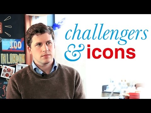 Challengers & Icons™ interview Season 2. Episode 8: Anthony Fletcher, CEO at graze | Pearlfisher