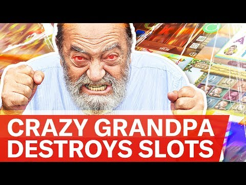 ? CRAZY GRANDPA PLAYING CASINO \ FREE SPINS & BONUSES \ SLOTS ONLINE ?