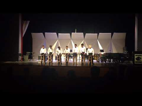 Patuxent high school percussion ensemble-stool pigeon