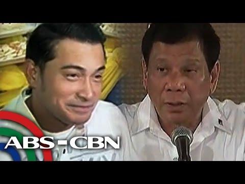 TV Patrol: Duterte, tiwala pa rin kay Cesar Montano