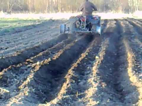 ATV bed forming plough YouTube