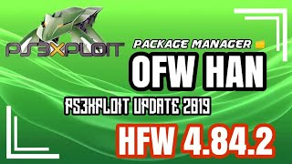 FINALLY INSTALL HFW 4.84.2 OFW PS3 USING PS3XPLOIT + HAN PACKAGE MANAGER