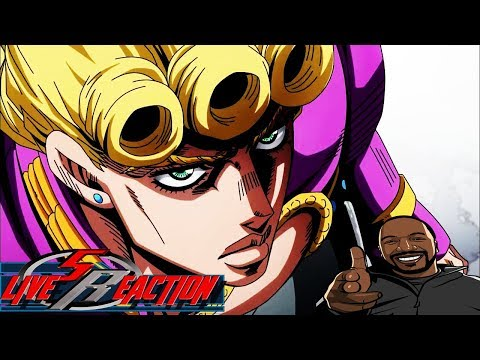 JoJo's Bizarre Adventure Part 5: Golden Wind Episode 1 LIVE REACTION - GOOD  AS GOLD!