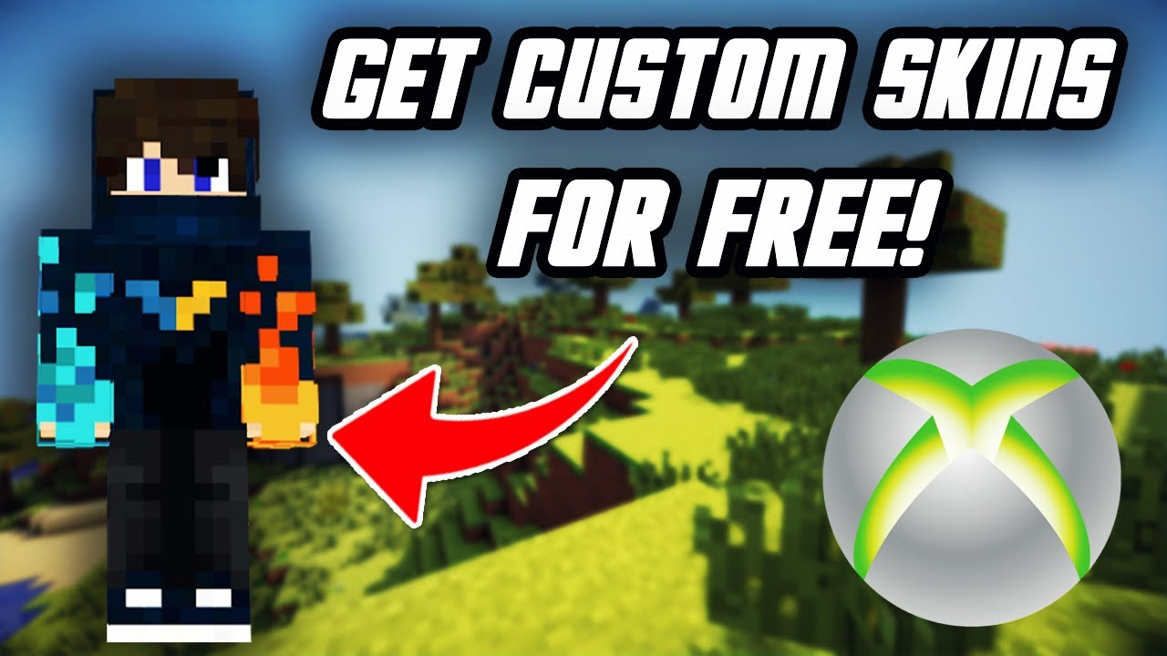 How To Get Free Custom Skins On Minecraft Xbox One New Method Youtube
