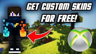 How To Get FREE CUSTOM SKINS On Minecraft Xbox One! (NEW METHOD!)