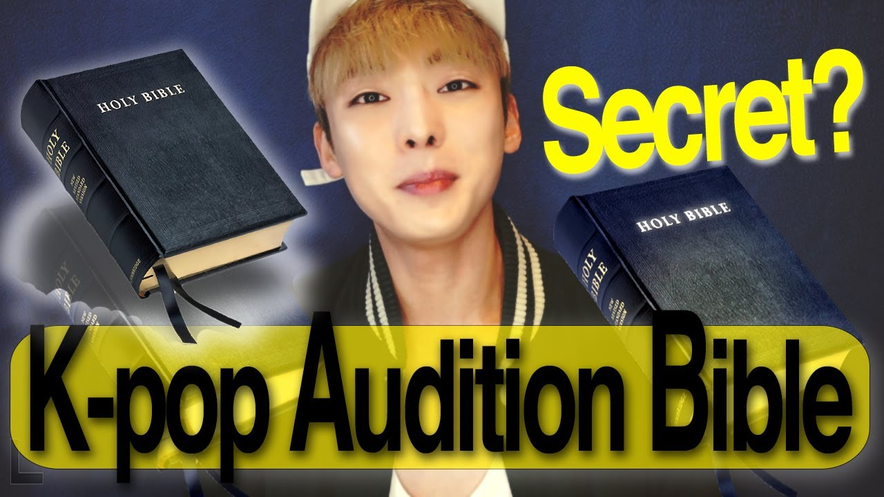 How To Become A Kpop Idol Youtube