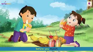 Fruits Song For Kids | Nursery Rhyme For Children | Periwinkle