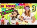LO TOMAS O LO DEJAS SLIME 3 |  Take it or Leave it  Slime  | Marta VS Tania | Como se Hace