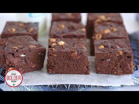 Simple Stovetop Brownies (No Oven Needed!) | Bigger Bolder Baking