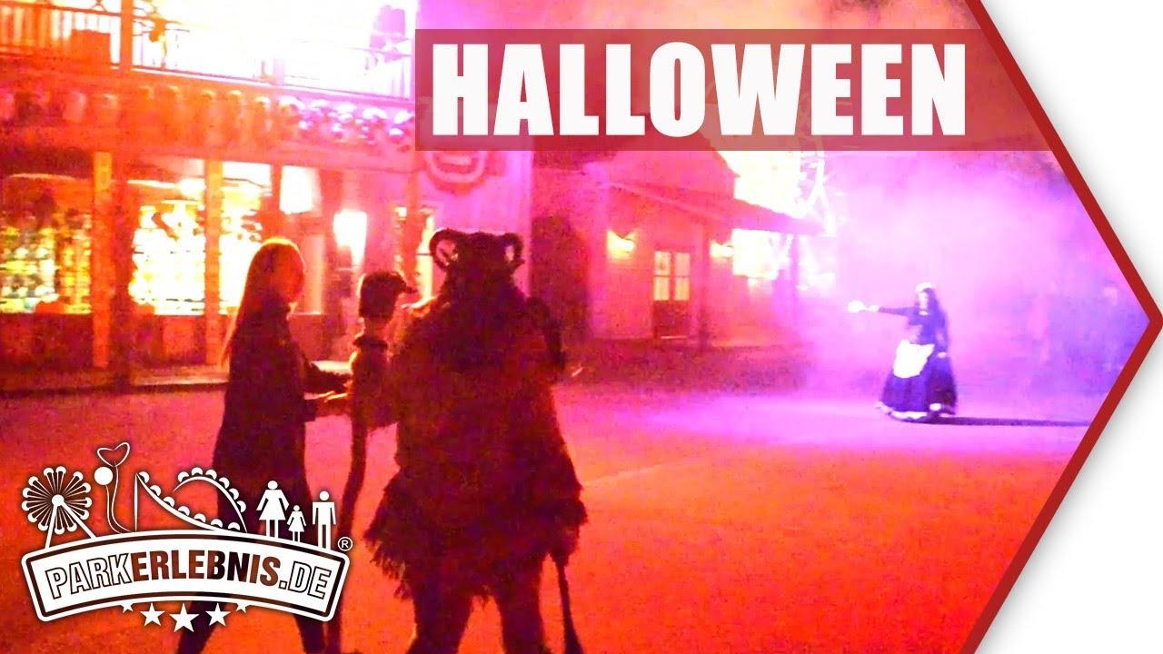 Movie Park Halloween Casting 2019.Halloween Horror Festival 2018 Street Action Movie Park Germany Halloween
