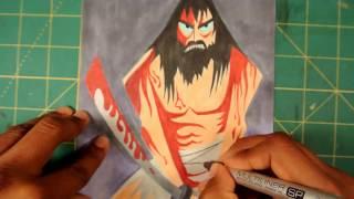 SamuraiJack Speed Drawing