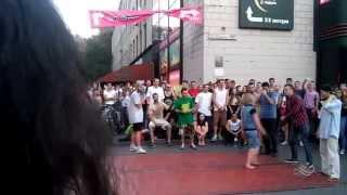 Танцевальные батлы Крещатика, Вечерний Киев часть 3 - Dance Battles Khreshchatyk, Kiev Evening part3