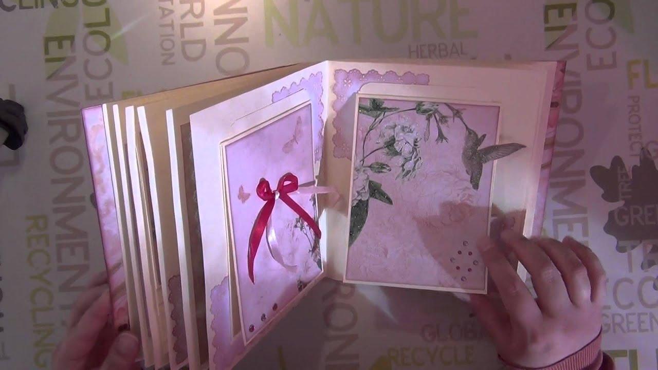 Populaire Création - Album de scrap - Cadeau fiançailles - YouTube GV77