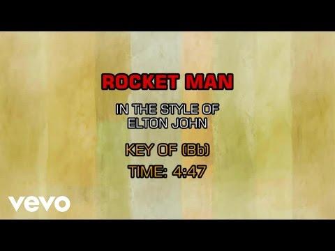 Elton John - Rocket Man (Karaoke)