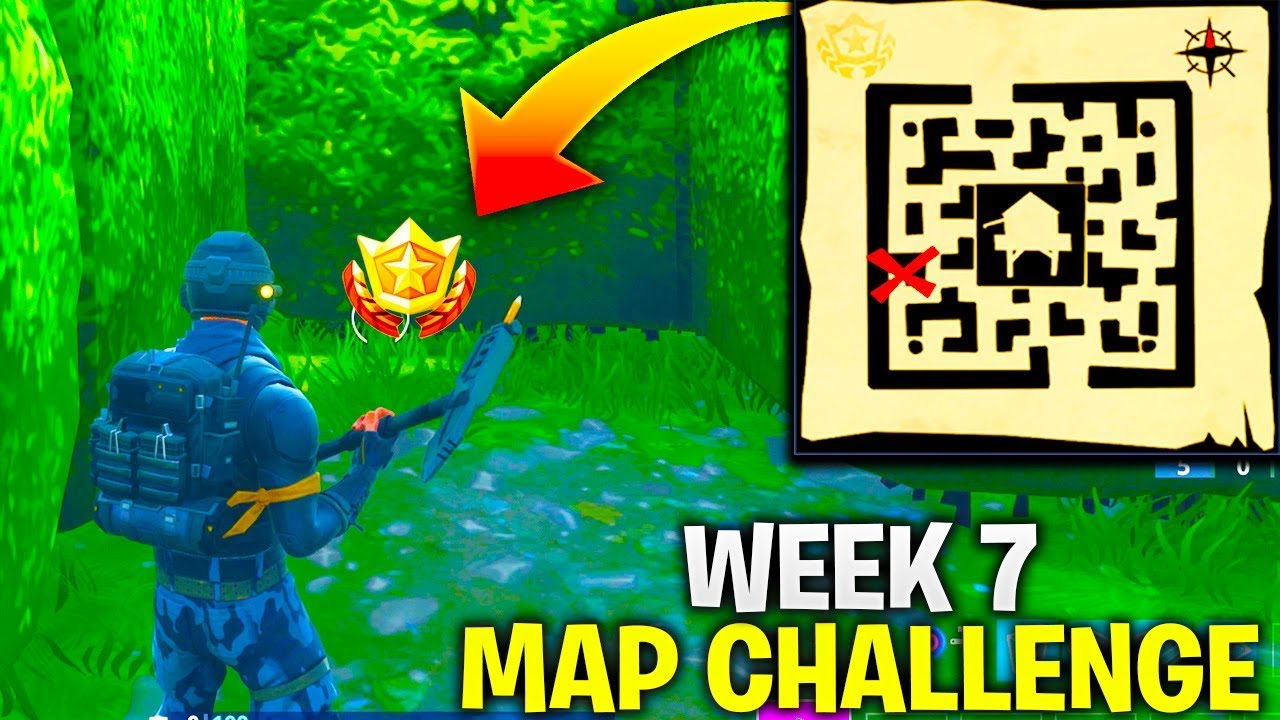 Fortnite Follow The Treasure Map Found In Retail Row Week 7