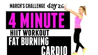 HIIT CARDIO HOME WORKOUT - Burn fat at home with this quick total body workout