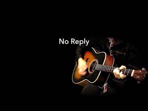 No Reply - The Beatles karaoke cover