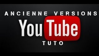 comment revenir a l'ancien interface youtube ?