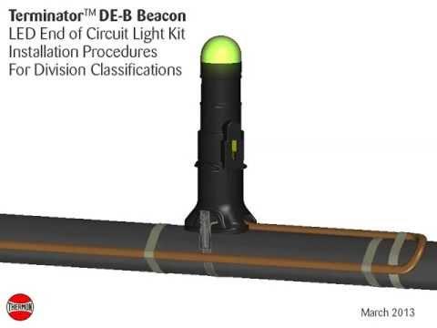 Terminator DE-B Beacon (Division Classifications) - Thermon Manufacturing Co.
