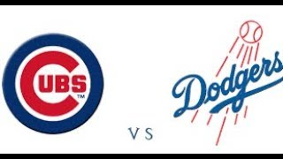 WATCH THE LOS ANGELES DODGERS VS CHICAGO CUBS NLCS GAME 4 (NO GAME FEED)
