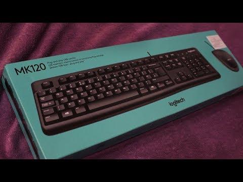 Комплект проводной Logitech MK120 USB (920-002561)