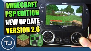 Minecraft PSP Edition Update 2.6 Released In 2018!!