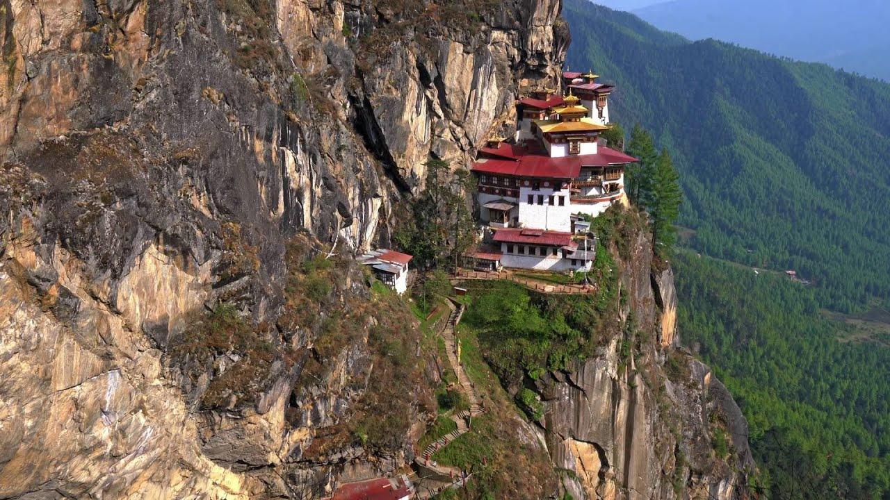 Himalaya Hd Wallpaper Sony A7s Ii Tiger S Nest Monastery Bhutan 4k Youtube
