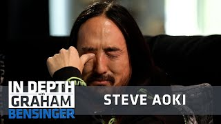 Emotional Steve Aoki: Life is short, love what you do