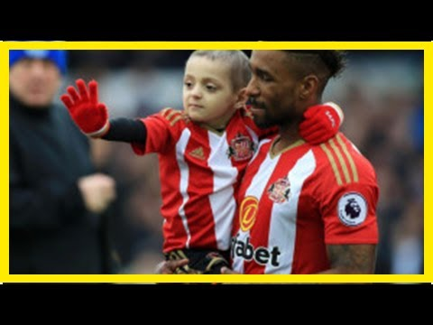 Bookmaker's donation to bradley lowery foundation after jermain defoe left out of sports personalit