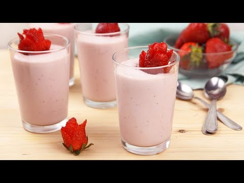 Strawberry pudding your solution for a fresh and delicious break