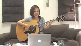2013.7.7 森恵さんのデビュー3周年記念 USTREAMライブより Megumi Mori ...