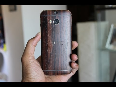 Slickwraps HTC One M8 Skin Review (EBONY WOOD)