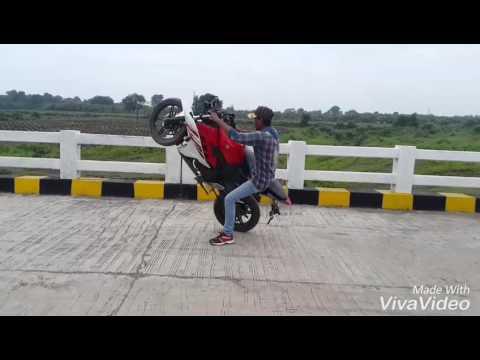 Syed Ahmad Ali 1 stunt video