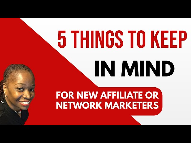 Infinity Processing System | ✋🏼 Things To Keep in Mind For New Network & Affiliate Marketers