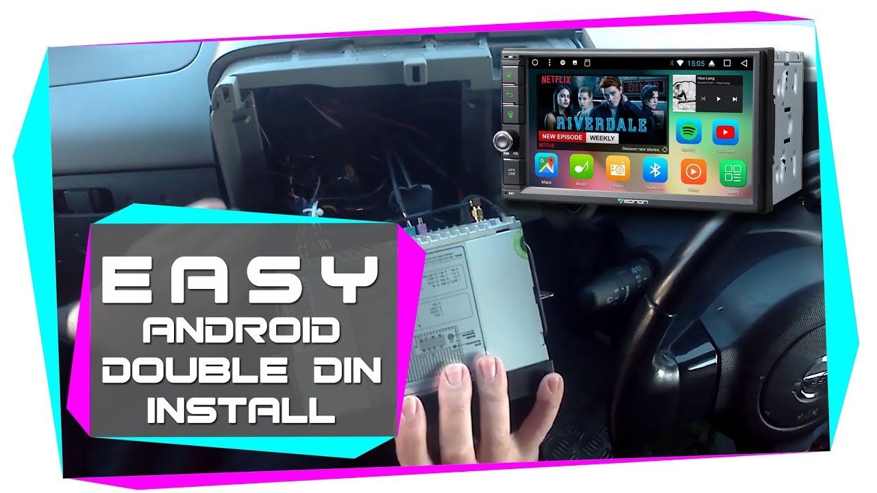 easy double din android stereo 2018 installation tutorial eonon  easy double din android stereo 2018 installation tutorial eonon ga2167