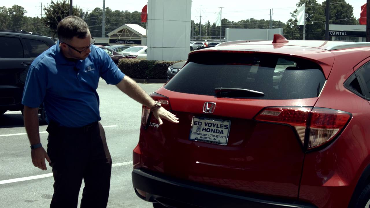 Ed Voyles Honda Presents The 2016 Honda HRV EXL