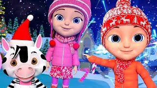 Deck The Halls in English | Christmas Song For Kids | क्रिसमस के गाने | New Year Song In English