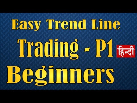 How to use Trend lines in trading Hindi   Part 1