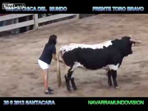 Bull mounts horse!!!!! from YouTube · Duration:  1 minutes 11 seconds