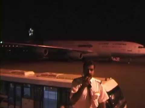 THE SIGHT & THE SOUND 2/4 : Balkan TU-154M LZ-LTD inflight documentary from Colombo to Abu Dhabi