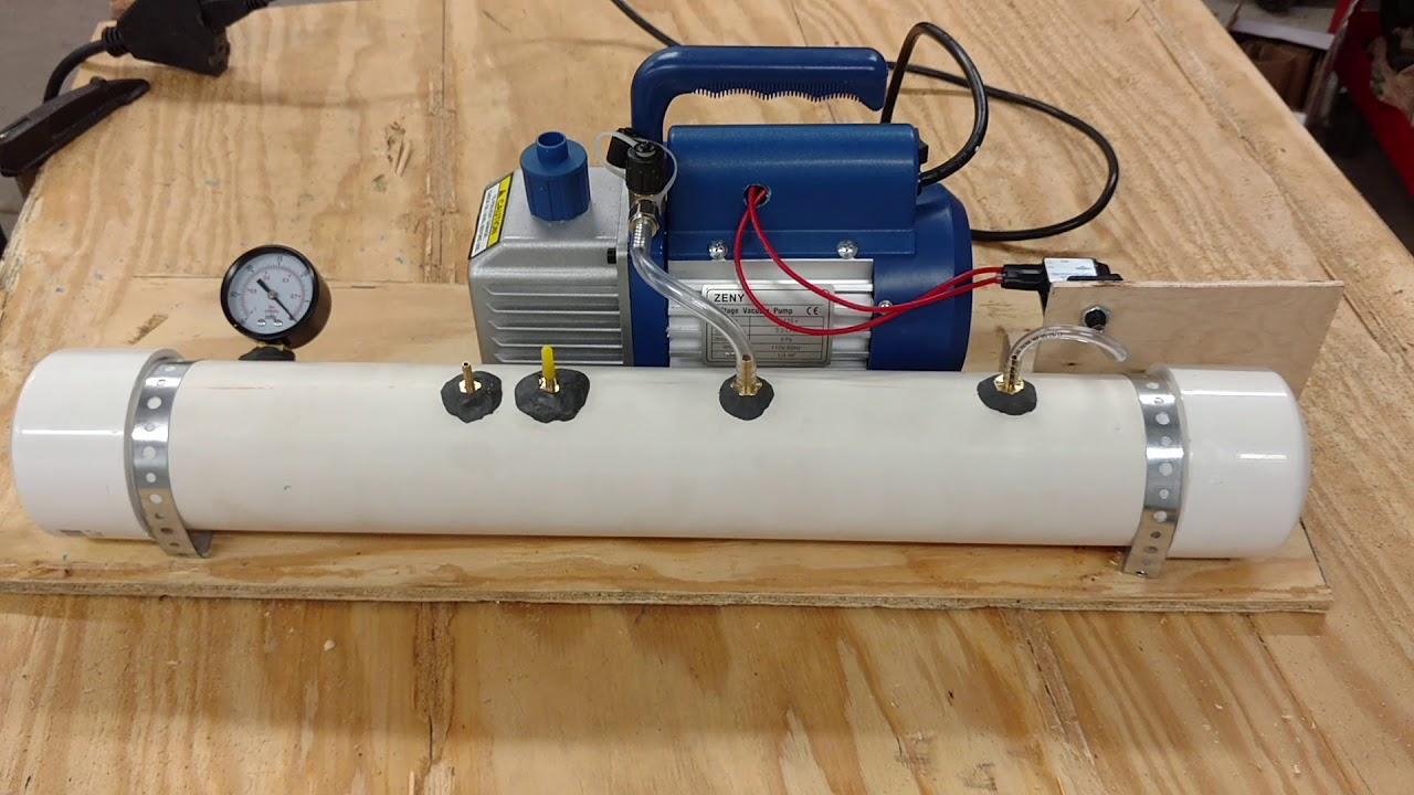 Diy Vacuum Pump For Bagging Rc Plane Wings Youtube