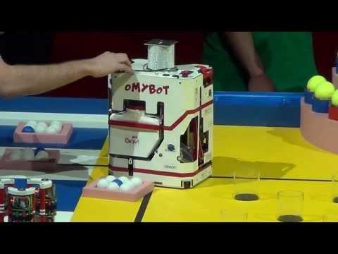 2013 - OMYBOT Démonstration - Coupe de France de robotique 2013