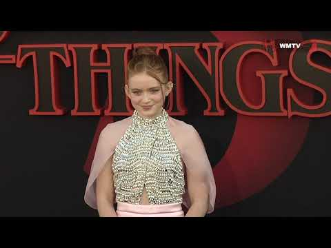 Sadie Sink arrives at Netflix's 'Stranger Things' Season 3 premiere